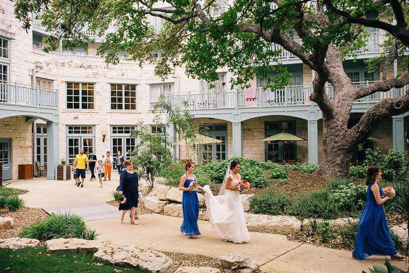 Hyatt Regency Hill Country Wedding