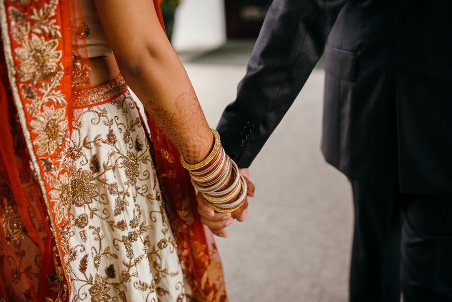 Leica Wedding Holding Hands Sheraton Mahwah Hotel