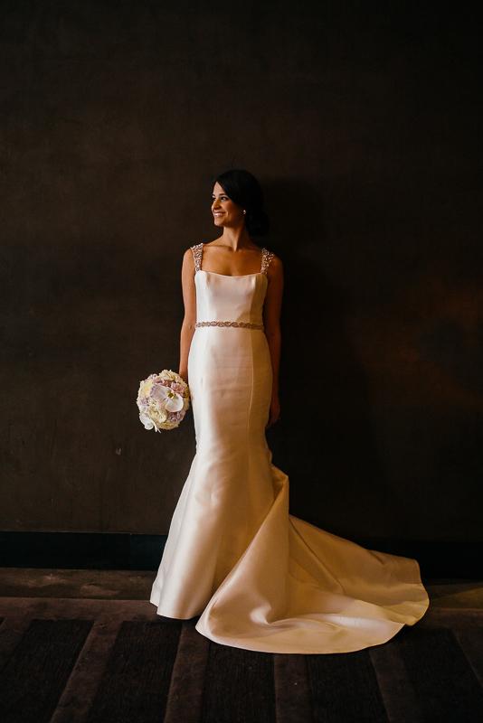 Jessica the bride at the W Hotel, Austin, Texas
