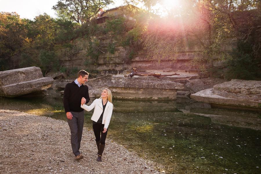 Bull District Park Engagement Photos Austin Texas