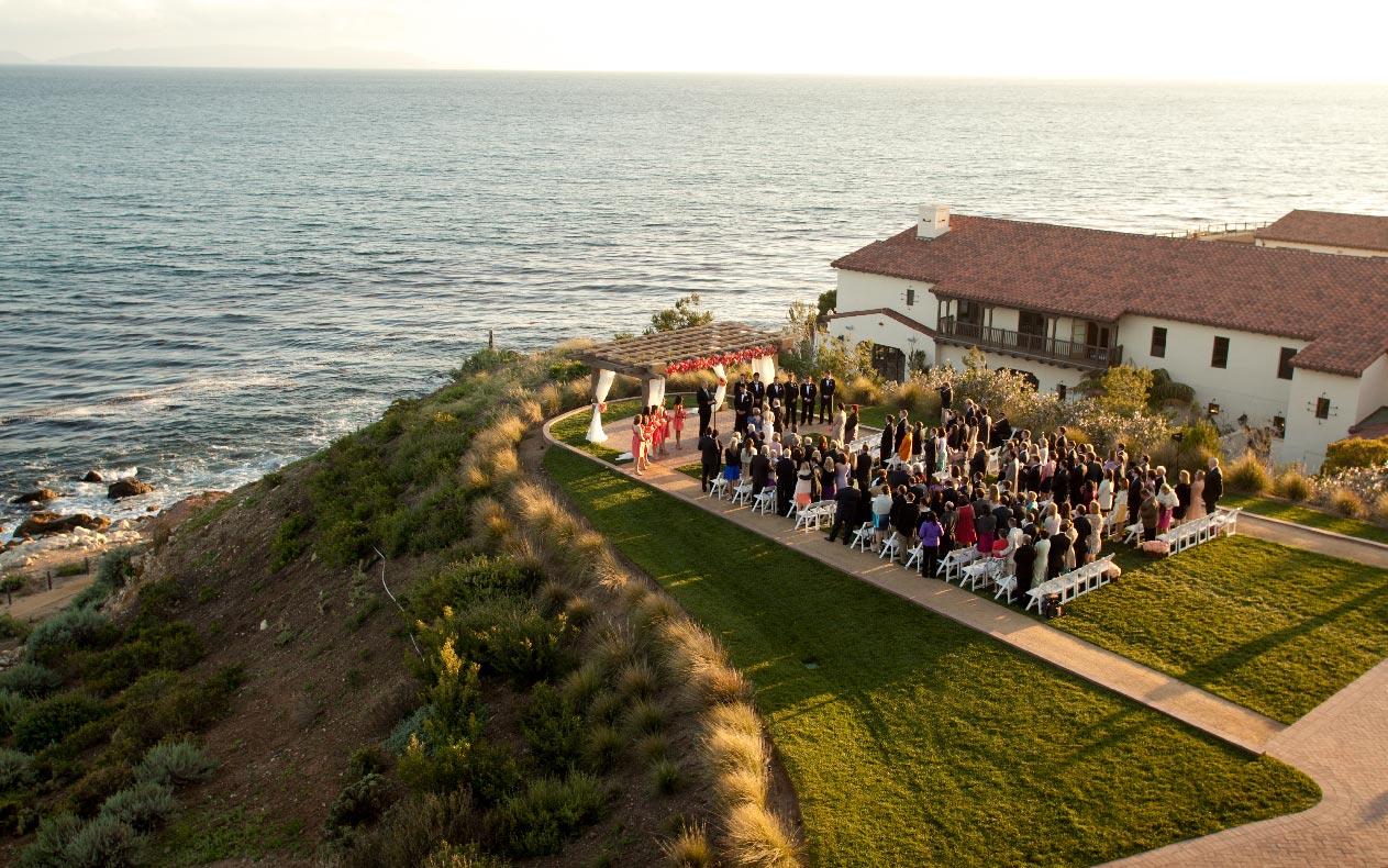 Destination wedding photographer Philip Thomas at Wedding photo at Terranea Resort Los Angeles Destination wedding