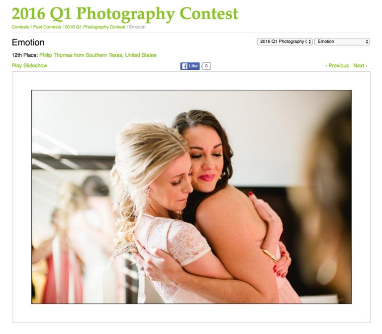 WPJA 2016 Q1 12th place contest
