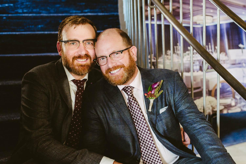 LGBTQ and gay wedding - Same-sex wedding couple - Leica wedding photography Philip Thomas