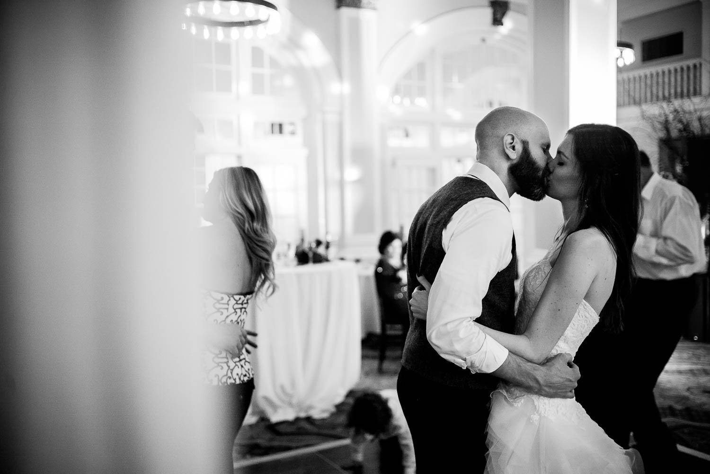 Hotel Galvez documentary wedding photography