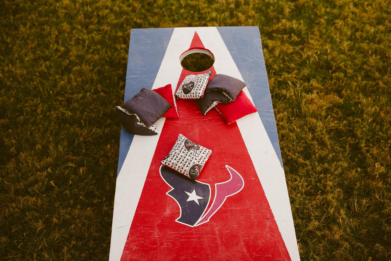 Texas throw bags game The Springs Boerne-Leica Wedding photographer-Philip Thomas