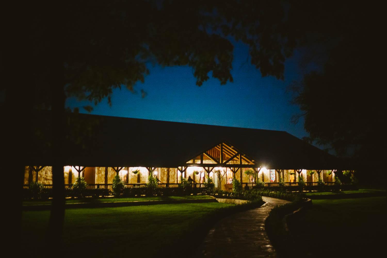 Nighttime dusk image of Pecan Springs Houston Texas photo by Philip Thomas Photography