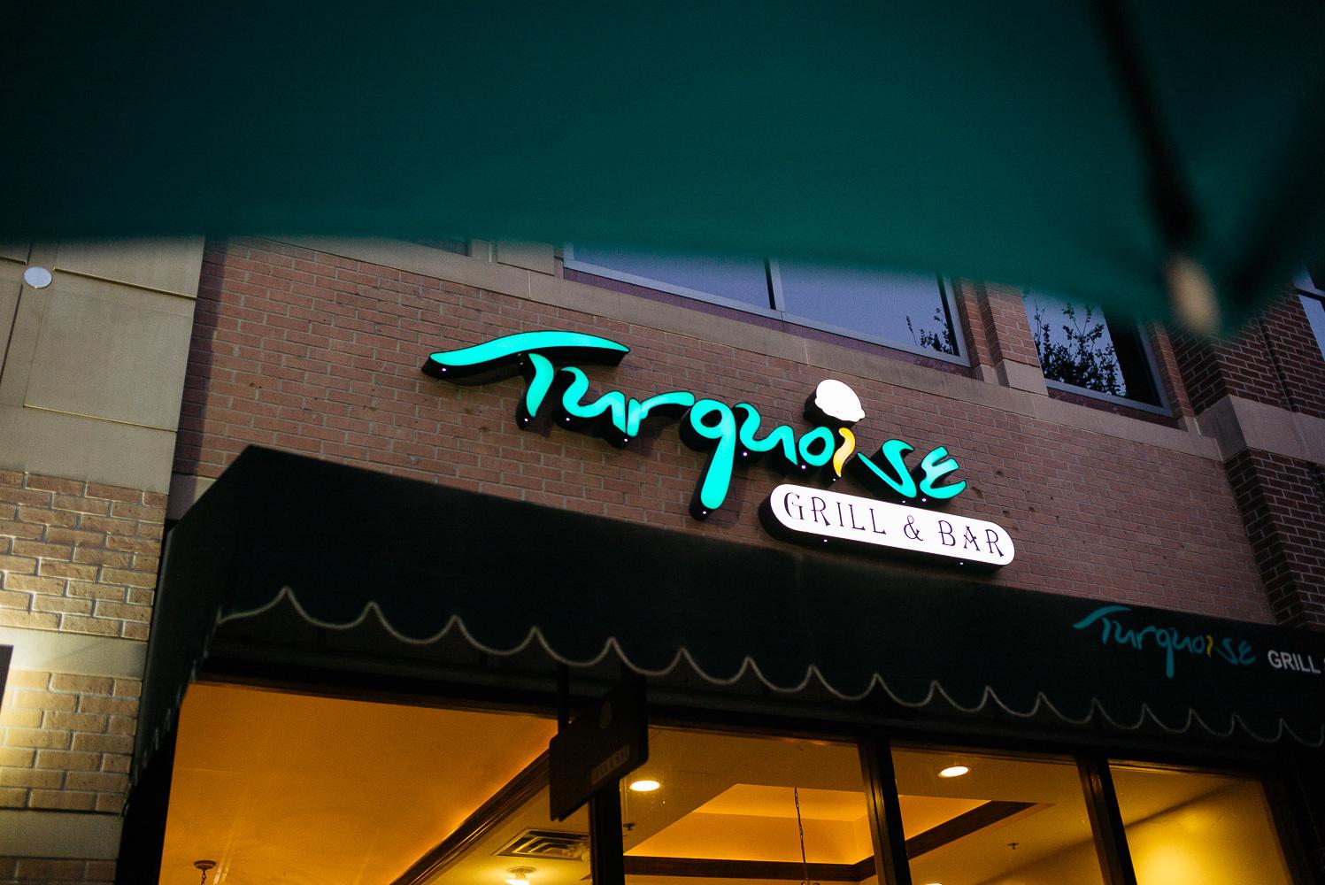 Rehearsal dinner at Turquoise Hindu Jewish fusion wedding Sugar Land Marriott Hotel Texas-001