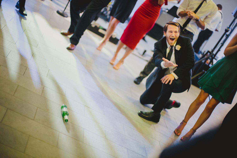 Spin the bottle who's next wedding reception Cherie Flores Garden Pavilion Wedding Hermann Park Houston Texas-Philip Thomas