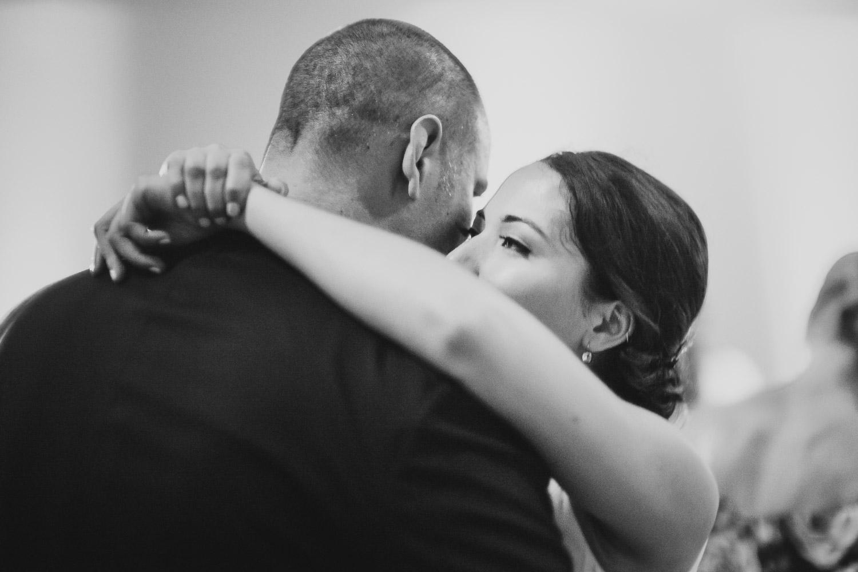 Slwo dance for wedded couple Christine and Justin Cherie Flores Garden Pavilion Wedding Hermann Park Houston Texas-Philip Thomas
