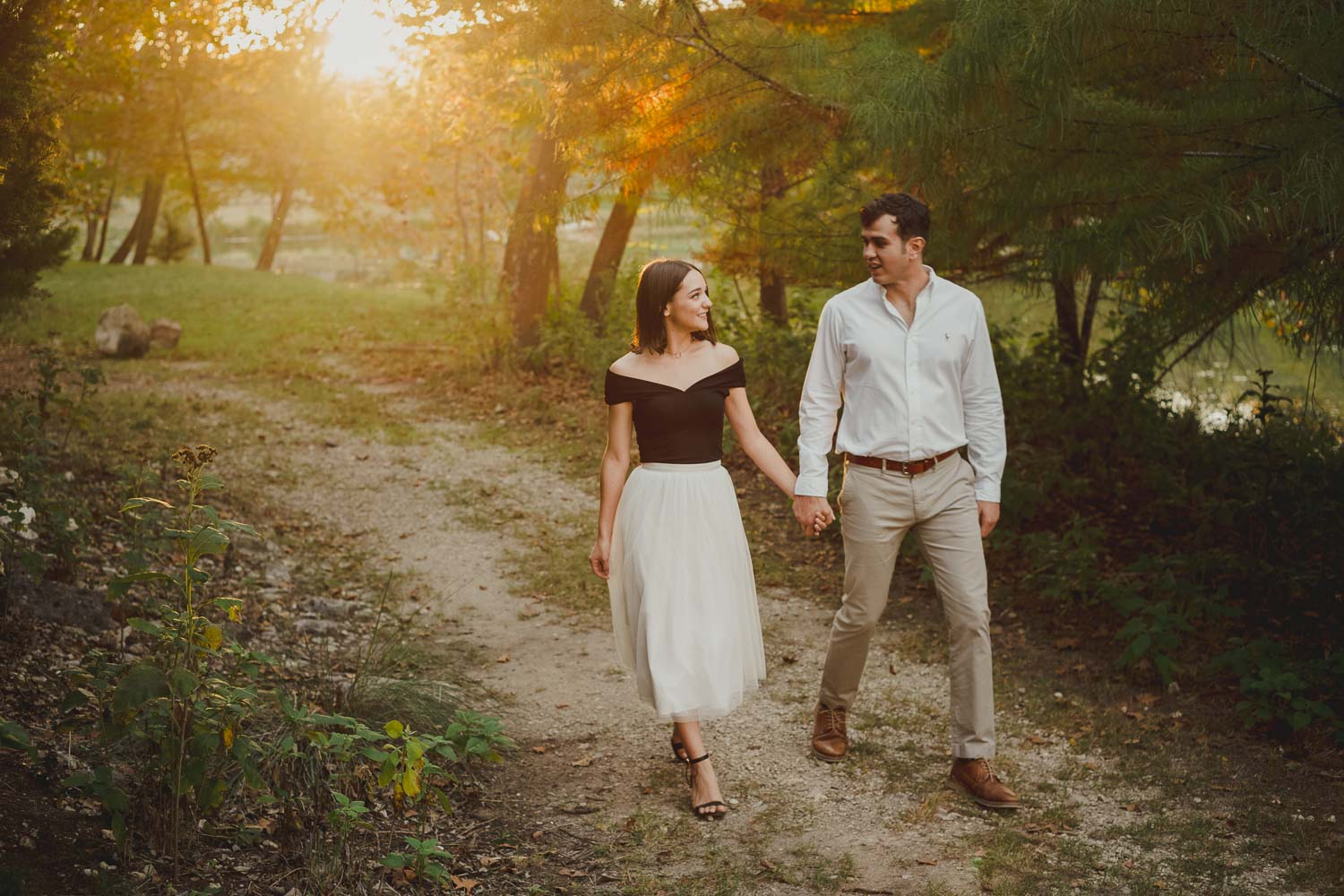 Jennifer and Eric's Hill Country Engagement shoot in Hunt, Texas
