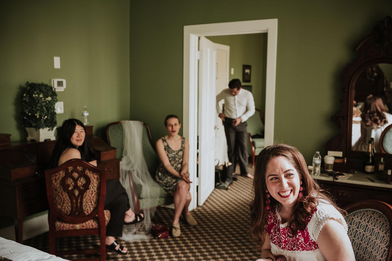 Menger Hotel girls getting ready -Club Giraud Wedding - Club Giraud Wedding - San Antonio Texas-05