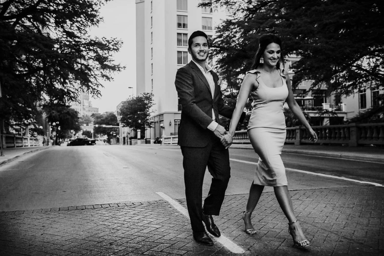 Westin Riverwalk downtown San Antonio engagement session _ Alanna + David-Philip Thomas-16