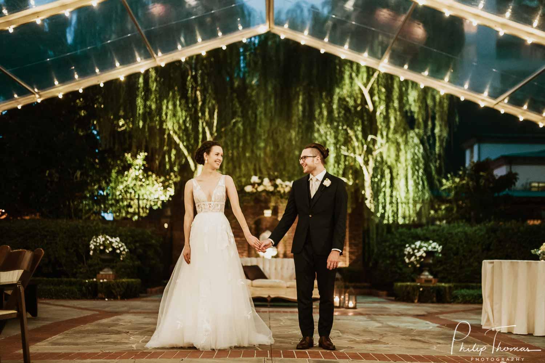 77 River Oaks Garden Club Forum-Nadia and Evan-Philip Thomas Photography-Houston wedding photographer