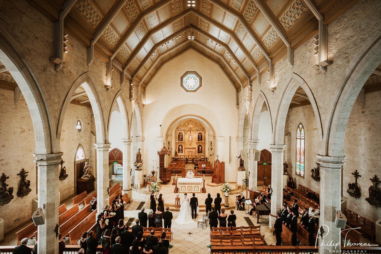 Alanna and David's gorgeous San Fernando Cathedral Wedding fall 2018
