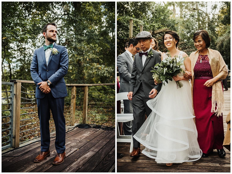 35-Wedding ceremony Houston Arboretum & Nature Center, 4501 Woodway Dr, Houston-Philip Thomas Photography