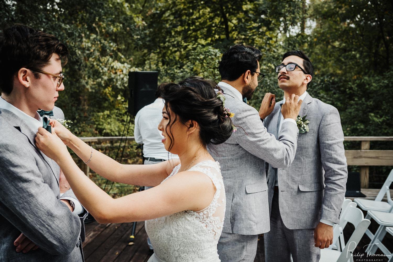 23-Wedding ceremony Houston Arboretum & Nature Center, 4501 Woodway Dr, Houston-Philip Thomas Photography-L1000089