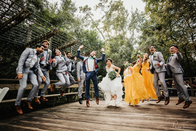 24-Wedding ceremony Houston Arboretum & Nature Center, 4501 Woodway Dr, Houston-Philip Thomas Photography-M2405448