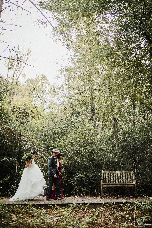 32-Wedding ceremony Houston Arboretum & Nature Center, 4501 Woodway Dr, Houston-Philip Thomas Photography-L1000329