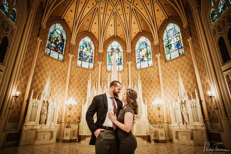 Sacred Heart Chapel San Antonio Engagement photos - Philip Thomas Photography